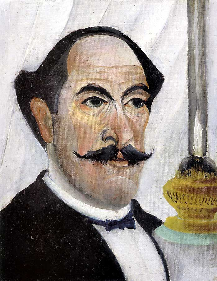 Henri Rousseau Self Portrait