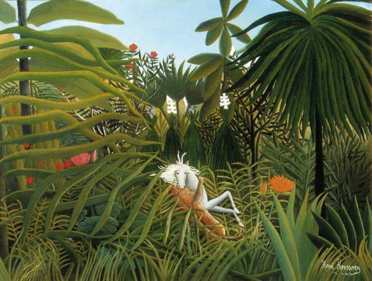 Henri Rousseau Jungle Paintings | Collection Picture Frames